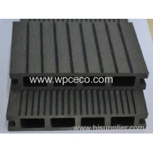 140x25mm Hollow Wpc Outdoor Flooring For Sales