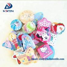 Cadeaux promotionnels 100% coton forme personnalisée compresse serviette