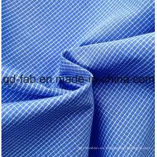 100% hilado de algodón teñido tejido de tela (QF13-0396)