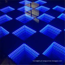 2016 novos produtos LED 3D óptico ilusões LED espelho LED Dance Floor