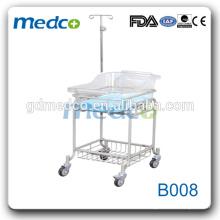 Medco B008 CE et ISO approuvé New Style Steel Hospital Lit bébé / berceau lit bébé