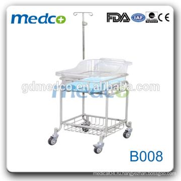 Medco B008 Регулируемая больничная тролли / детская кроватка / детская кроватка