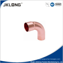 J9019 copper 90 deg big R elbow copper plumbing fittings for sale