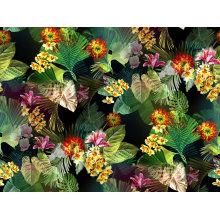 100% flor de nylon impresso tela de confecção de malhas têxtil (asq095)
