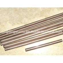 Électrode de barre ronde d'alliage de cuivre de tungstène à haute densité pour ERW