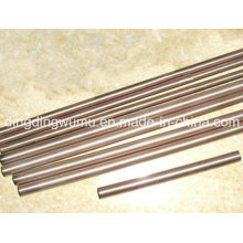 Eléctrodo high-density da barra redonda da liga de cobre do tungstênio para ERW
