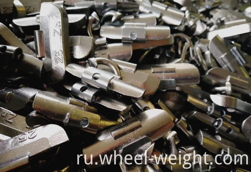 Zn Clip On Weight For Steel Rim