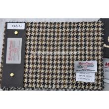 Tejido de tweed de lana de alta calidad personalizado vendido a Japón