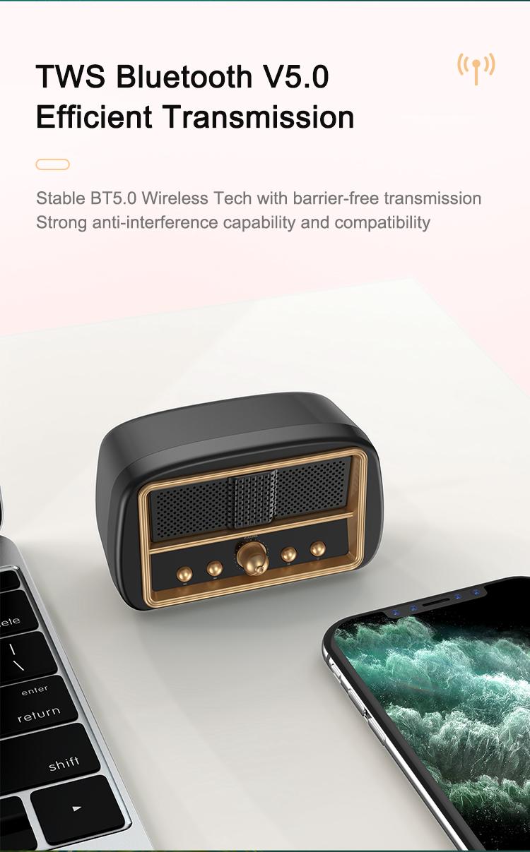 Wireless Retro Speaker Waterproof Retro Speaker Jpg