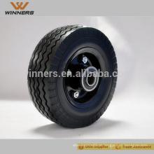 Roda de borracha do carrinho de mão da roda do rodízio de 6 polegadas para o caminhão de mão