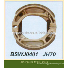 high quality motorcycle brake shoes for JH70