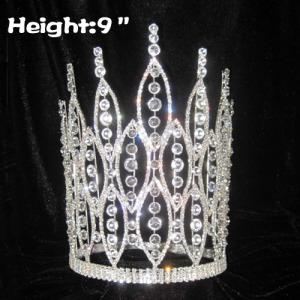 Coronas brillantes de 9 pulgadas con grandes diamantes