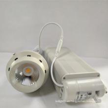 Lámpara de fundición de aluminio de 18W Cob LED luz de pista