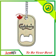 2014 Newest Custom Dog Tag Bottle Opener for Promotion