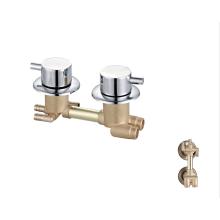 Factory cheap  brass chrome mixer taps  bathroom shower faucet