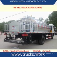15000liters Carbon Steel Asphalt Bitumen Transport Tanker Truck
