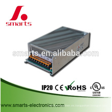 Meanwell 24v 500w fuente de alimentación de conmutación de salida única / caja del controlador led