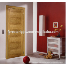 Puerta de chapa color interior dormitorio
