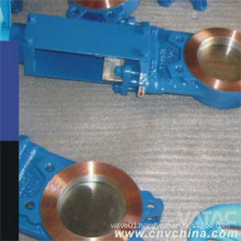 2′′~48′′ ANSI 150# Cast Iron Gg25 Wafer Knife Gate Valve