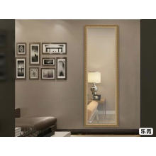 Gold frame mirror 35*135cm full length wall moungted mirror with antique style