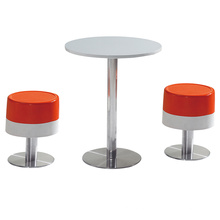 Staless Bar Table and Chair on Sale