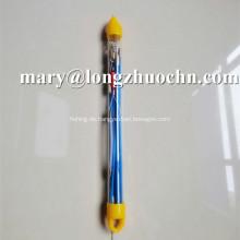 OEM Solid Fiberglas Push Pull Angelrute