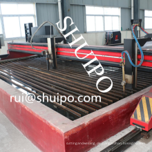 Cnc-Plasma-Schneidemaschine / CNC internationale Marke / SHUIPO Plasma und Flamme CNC-Schneidemaschine