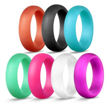Изготовленное на заказ силиконовое обручальное кольцо для женщин