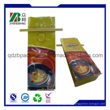 Reusable Plastic Coffee Bag with Tin Tie