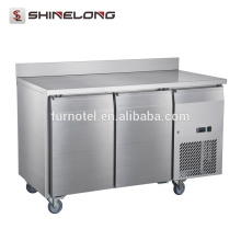 FRUC-4-1 FURNOTEL 2 Portas Undercounter Chiller com Backsplash Supermarket Refrigeration Equipment