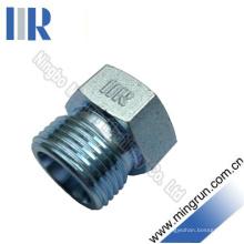 Conector hidráulico macho métrico del tubo del adaptador del enchufe hidráulico (4D)