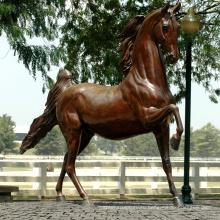 Популярные конструкции из бронзы в натуральную величину Конной статуи для украшения сада