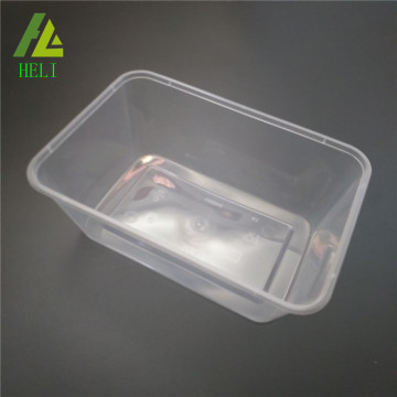 FDA and freezer safe clear plastic tray