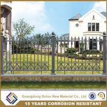 Anti-Climbing Galvanized Steel Garden Fencing