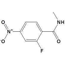 N-méthyl-2-fluoro-4-nitrobenzamide N ° CAS 915087-24-0