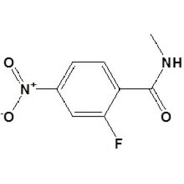 N-Metil-2-fluoro-4-nitrobenzamida N ◦ CAS 915087-24-0