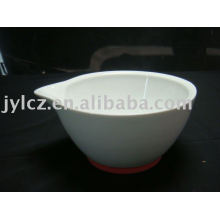 Ceramic high grinding bowl and pestle