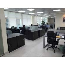 Estación de trabajo de oficina abierta personalizada del mercado de Dubai (FOH-CWT1)