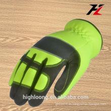 China guantes mecánicos anti choque cómodos