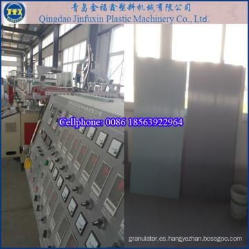 Máquina de plástico para línea de extrusión de producción de cartón espumado PVC