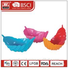 Colorido recipiente de plástico de los PP