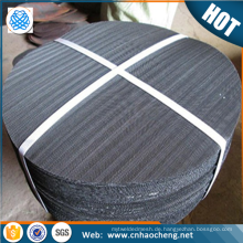 oil and chemical filtration 60 mesh black wire mesh cloth black filter disc