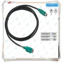 Cable de extensión de alta calidad PS / 2 para el teclado / el ratón 1.5m Nuevo