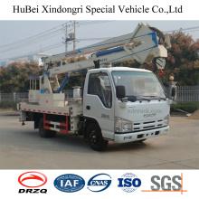 Camion Isuzu Nkr de 18m avec plate-forme de travail aérien