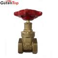 Guten Top ISO9001 57-3 Copper Brass Forged Gate Valve