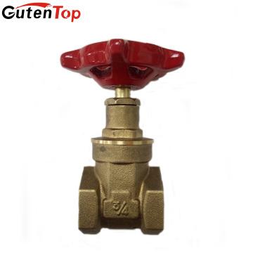 Guten Top ISO9001 57-3 Válvula de compuerta forjada de latón y cobre