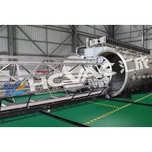 Máquina del equipo de la galjanoplastia de revestimiento del oro del tubo PVD de la hoja de acero inoxidable