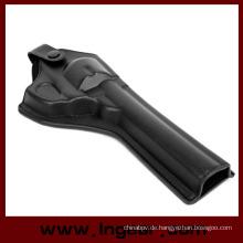 Armee Kraft Leder Revolver Pistole Holster lang Stil