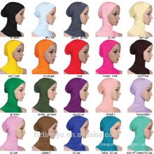 Islamic Hijab women fashion palin muslim cap