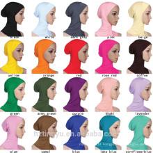 Mulheres islâmicas Hijab moda palin muçulmano cap